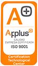 Certificado UNE-EN ISO 9001:2015